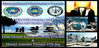 IIC Riva del Garda con GM Trevor Nichols e Master A. Troiano