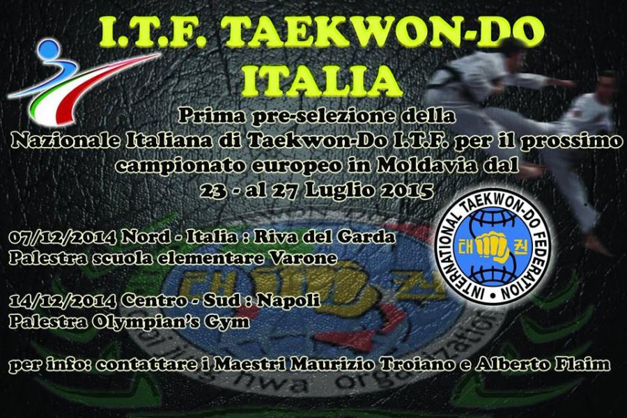 Preselezione Team Italia