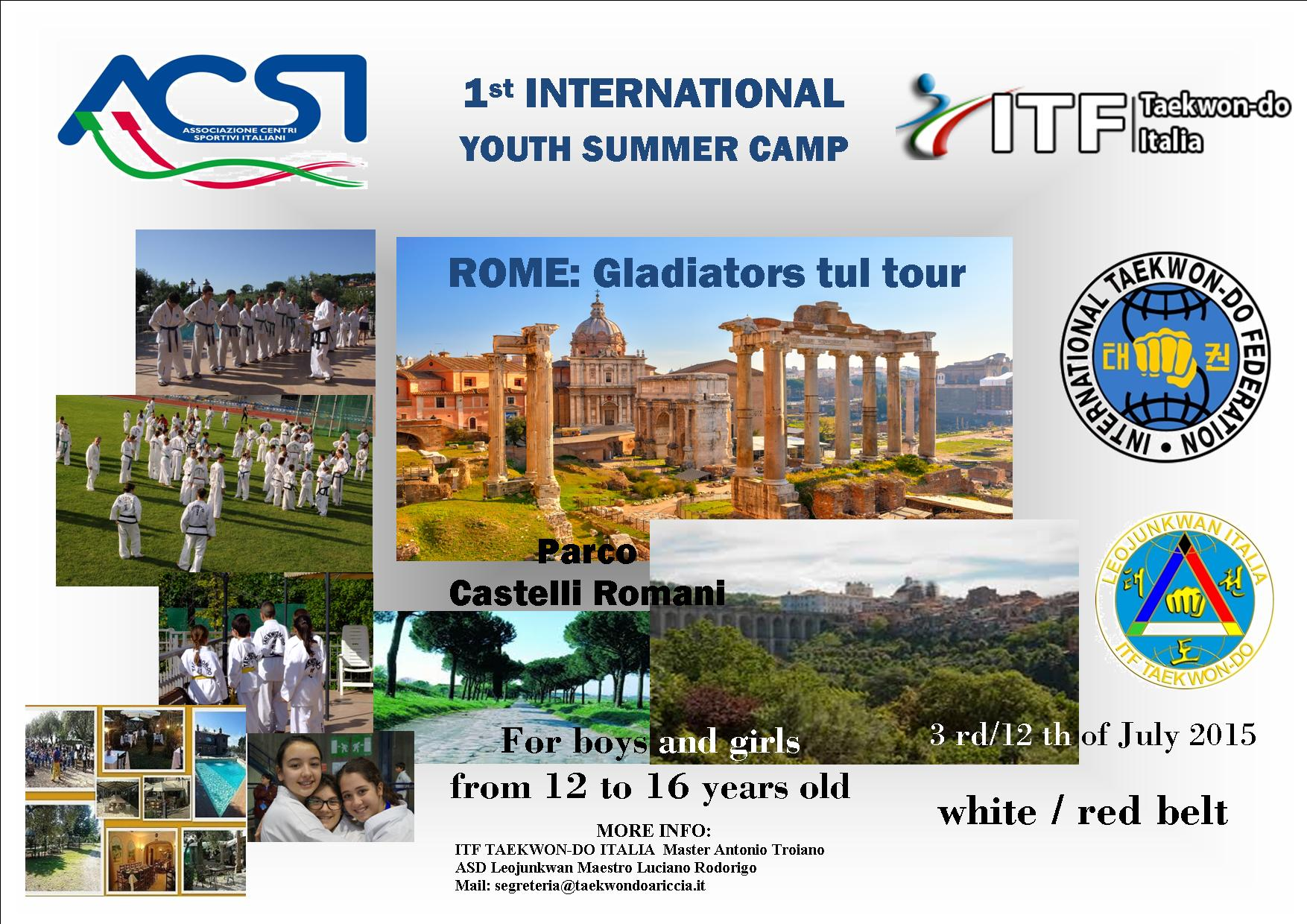 International Summer Camp 2015