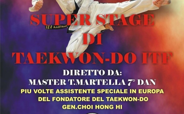 Stage Master Tarcisio Martella