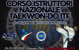 Corso Istruttori ITF Taekwon-Do Italia