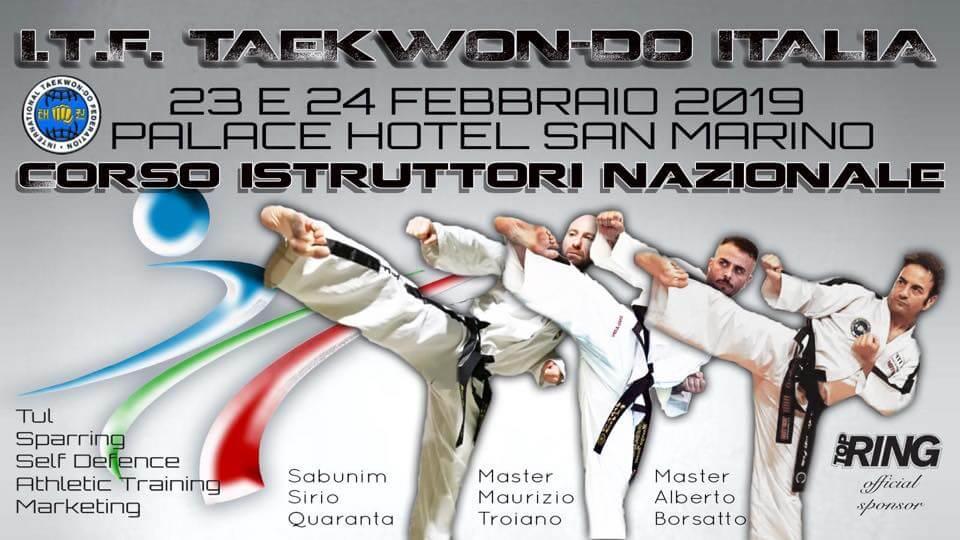 Corso Istruttori ed Esami di Dan - Repubblica di San Marino